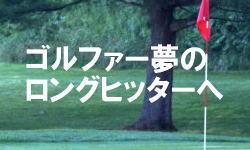 ゴルフ夢のロングヒッター