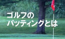 ゴルフのパッティングとは